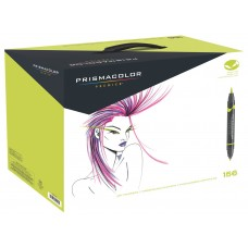 Prismacolor Double Ended Brush 156 Color Set